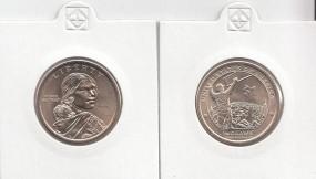USA Native Dollar 2015 Buchstabe D