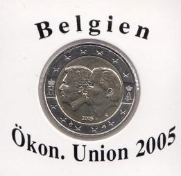 Belgien 2 € 2005, Ökonomische Union