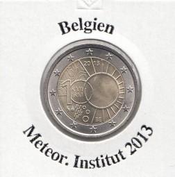 Belgien 2 € 2013, Meteorlogisches Institut