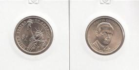 30 USA Präsidenten - Dollar 2014, Coodlige, Buchstabe D