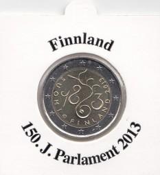 Finnland 2 € 2013, 150 Jahre Parlament