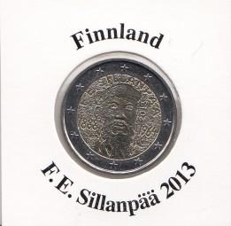 Finnland 2 € 2013, F.E.Sillanpää
