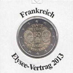 Frankreich 2 € 2013, Elysee - Vertrag,