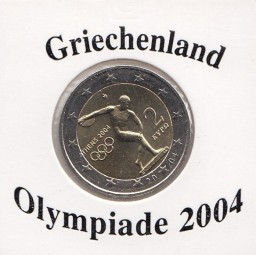 Griechenland 2 € 2004 Olympiade Athen