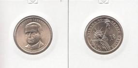31 USA Präsidenten - Dollar 2014, Hoover, Buchstabe D
