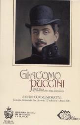 San Marino 2 € 2014, Puccini