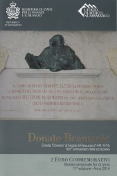 San Marino 2 € 2014, Donato Bramante