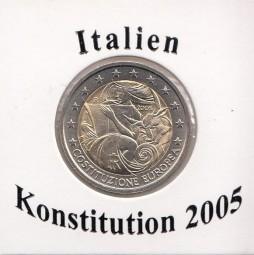 Italien 2 € 2005, Konstitution