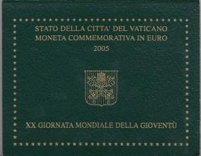 Vatikan 2 € 2005 , Weltjugendtag Köln