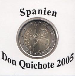 Spanien 2 € 2005 Don Quichote