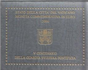 Vatikan 2 € 2006, Schweizer Garde