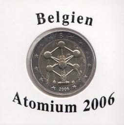 Belgien 2 € 2006, Atomium