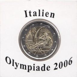 Italien 2 € 2006, Olympiade
