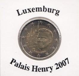 Luxemburg 2 € 2007, Palais Henry