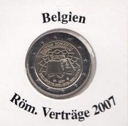 Belgien 2 € 2007 Röm. Verträge