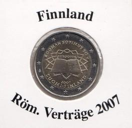Finnland 2 € 2007, Röm. Verträge