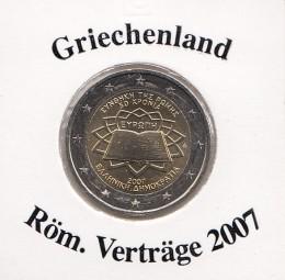 Griechenland 2 € 2007 Röm. Verträge