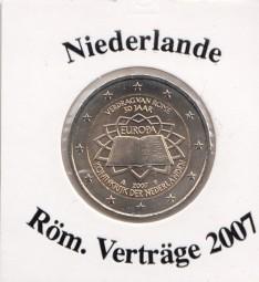 Niederlande 2 € 2007 Röm. Verträge