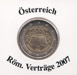 Österreich 2 € 2007, Röm. Verträge