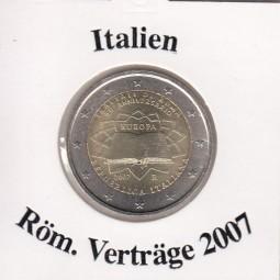 Italien 2 € 2007 Röm. Verträge