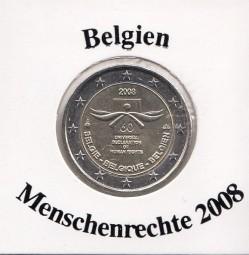 Belgien 2 € 2008, Menschenrechte
