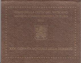 Vatikan 2 € 2011, Weltjugendtag Madrid