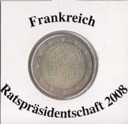 Frankreich 2 € 2008, Ratspräsidentschaft