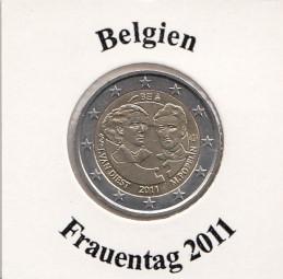 Belgien 2 € 2011, Internationaler Frauentag