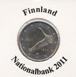 Finnland 2 € 2011, Nationalbank