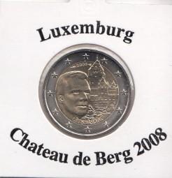Luxemburg 2 € 2008, Chateau de Berg
