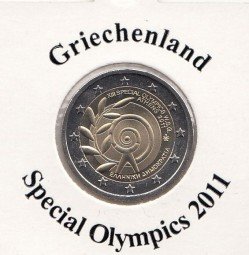 Griechenland 2 € 2011, Special Olymics