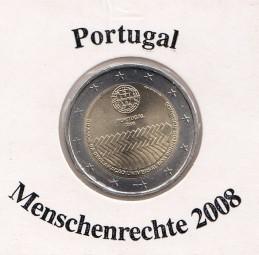 Portugal 2 € 2008, Menschenrechte