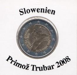 Slowenien 2 € 2008, Promoz` Trubar