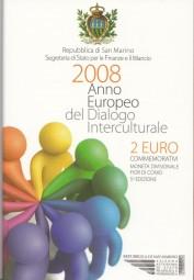 San Marino 2 € 2008, Kultureller Dialog