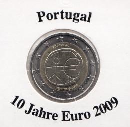 Portugal 2 € 2009, 10 Jahre Euro