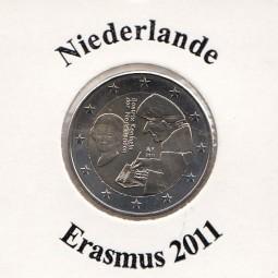 Niederlande 2 € 2011, Erasmus von Rotterdam