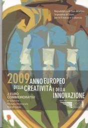 San Marino 2 € 2009, Jahr der Kreativität