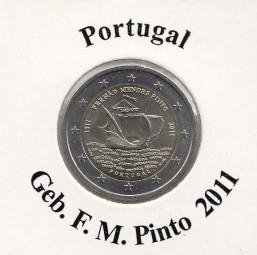 Portugal 2 € 2011. Geb. F.M. Pinto