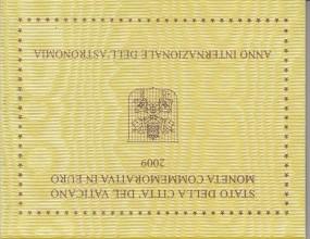 Vatikan 2 € 2009, Jahr der Astronomie