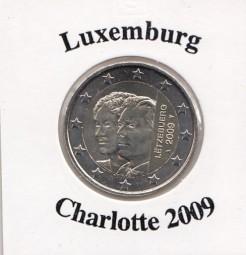 Luxemburg 2 € 2009, Charlotte