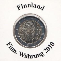 Finnland 2 € 2010, Finnische Währung