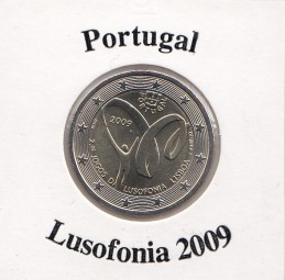 Portugal 2 € 2009, Lusofonia