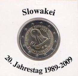 Slowakei 2 € 2009, 20. Jahrestag 1989 - 2009