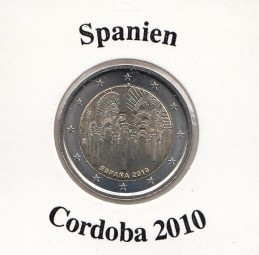 Spanien 2 € 2010 , Cordoba
