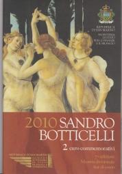 San Marino 2 € 2010, Sandro Botticelli