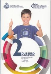San Marino 2 € 10 Jahre Eurobargeld