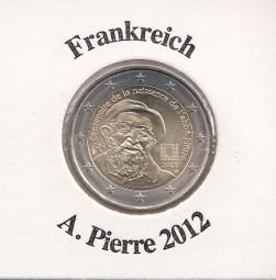 Frankreich 2 € 2012, A. Pierre,