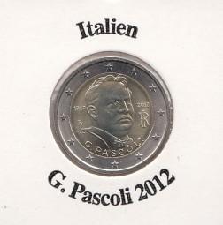 Italien 2 € 2012 G. Pascoli,