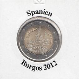 Spanien 2 € 2012, Burgos,