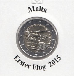 Malta 2 € 2015 , Erstflug